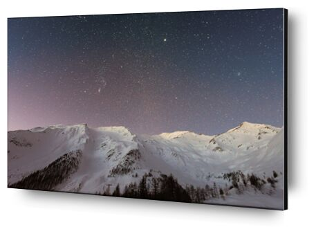 The stars under the mountain from Pierre Gaultier, Prodi Art, Art photography, Aluminum mounting, Prodi Art