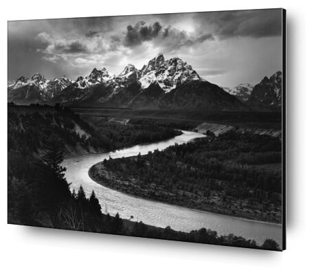 Snake River, Las Cruces, ANSEL ADAMS 1942 from Aux Beaux-Arts, Prodi Art, Art photography, Aluminum mounting, Prodi Art