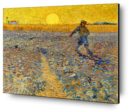 Sower at Sunset - VINCENT VAN GOGH 1888 from Aux Beaux-Arts, Prodi Art, Art photography, Aluminum mounting, Prodi Art