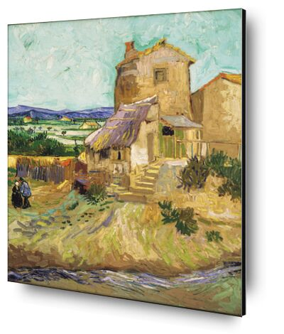 Le vieux moulin - VINCENT VAN GOGH 1888 de Aux Beaux-Arts, Prodi Art, Photographie d'art, Contrecollage aluminium, Prodi Art