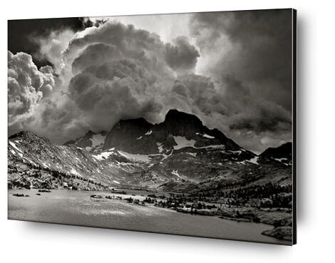 Garnet Lake, Californie, ANSEL ADAMS de Aux Beaux-Arts, Prodi Art, Photographie d'art, Contrecollage aluminium, Prodi Art