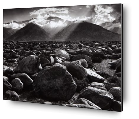 Williamson, ANSEL ADAMS de Aux Beaux-Arts, Prodi Art, Photographie d'art, Contrecollage aluminium, Prodi Art