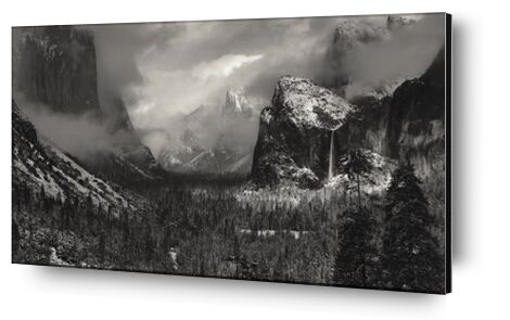 Yosemite, United States - ANSEL ADAMS 1952 from Aux Beaux-Arts, Prodi Art, Art photography, Aluminum mounting, Prodi Art