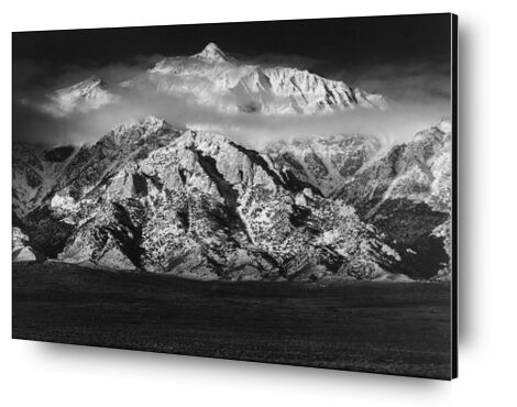 Montagne Williamson, Sierra Nevada - ANSEL ADAMS 1949 de Aux Beaux-Arts, Prodi Art, Photographie d'art, Contrecollage aluminium, Prodi Art