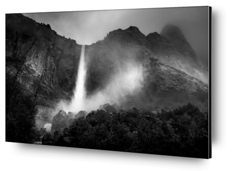 La fontaine, Nouveau Mexique, ANSEL ADAMS 1956 de Aux Beaux-Arts, Prodi Art, Photographie d'art, Contrecollage aluminium, Prodi Art