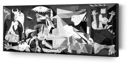 Guernica - PABLO PICASSO from Aux Beaux-Arts, Prodi Art, Art photography, Aluminum mounting, Prodi Art