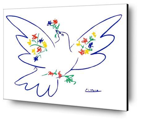 La colombe de paix - PABLO ICASSO de Aux Beaux-Arts, Prodi Art, Photographie d'art, Contrecollage aluminium, Prodi Art