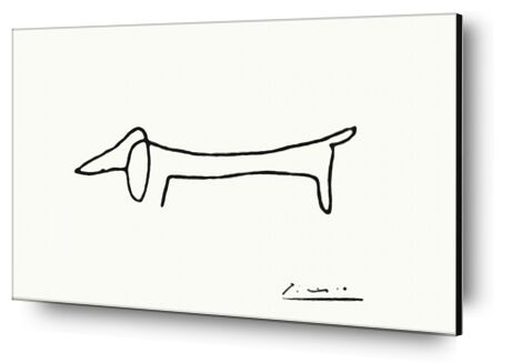 The dog - PABLO PICASSO from Aux Beaux-Arts, Prodi Art, Art photography, Aluminum mounting, Prodi Art