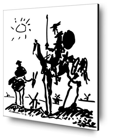 Don Quixote - PABLO PICASSO from Aux Beaux-Arts, Prodi Art, Art photography, Aluminum mounting, Prodi Art