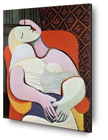 The dream - PABLO PICASSO from Aux Beaux-Arts, Prodi Art, Art photography, Aluminum mounting, Prodi Art