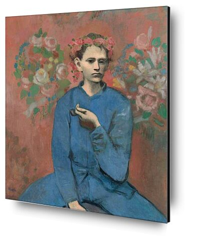 Boy with pipe - PABLO PICASSO from Aux Beaux-Arts, Prodi Art, Art photography, Aluminum mounting, Prodi Art