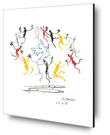 The dance of youth - PABLO PICASSO from Aux Beaux-Arts, Prodi Art, Art photography, Aluminum mounting, Prodi Art