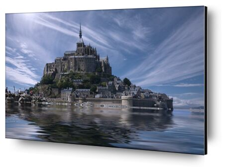 Le Mont-Saint-Michel from Aliss ART, Prodi Art, Art photography, Mounting on aluminium, Prodi Art