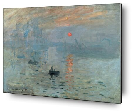 Impression, soleil levant 1872 - CLAUDE MONET de Aux Beaux-Arts, Prodi Art, Photographie d'art, Contrecollage aluminium, Prodi Art