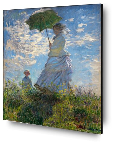 La Promenade - CLAUDE MONET 1875 de Aux Beaux-Arts, Prodi Art, Photographie d'art, Contrecollage aluminium, Prodi Art