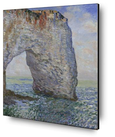 The Manneporte near Étretat - CLAUDE MONET 1886 from Aux Beaux-Arts, VisionArt, Art photography, Aluminum mounting, Prodi Art