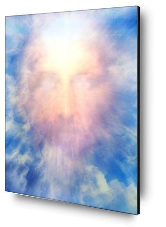 Le Messie en gloire de Adam da Silva, Prodi Art, Photographie d'art, Contrecollage aluminium, Prodi Art