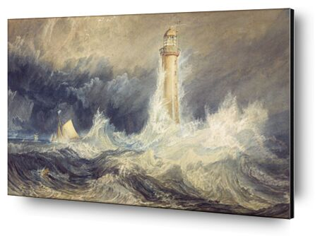 Bell Rock Lighthouse - WILLIAM TURNER 1824 from Aux Beaux-Arts, Prodi Art, Art photography, Aluminum mounting, Prodi Art