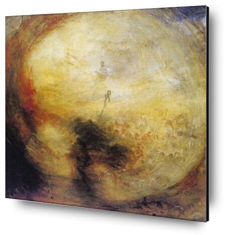 The Morning after the Deluge - WILLIAM TURNER 1843 from Aux Beaux-Arts, Prodi Art, Art photography, Aluminum mounting, Prodi Art