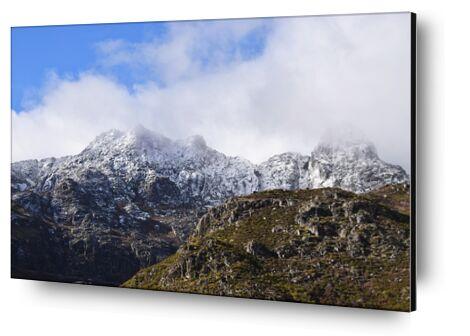 Montagne dans les nuages de ivephotography, VisionArt, Photographie d'art, Contrecollage aluminium, Prodi Art