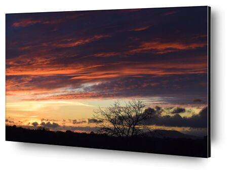 coucher de soleil de ivephotography, VisionArt, Photographie d'art, Contrecollage aluminium, Prodi Art