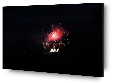 feux d'artifice de ivephotography, Prodi Art, Photographie d'art, Contrecollage aluminium, Prodi Art