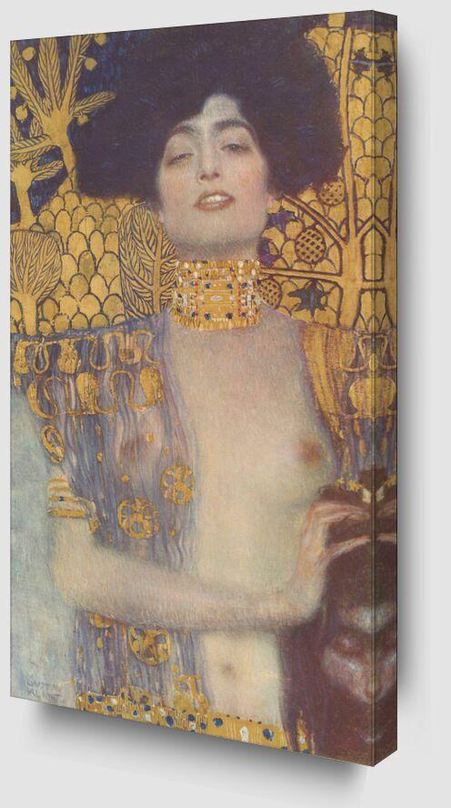 Judith, 1901 - Gustav Klimt de AUX BEAUX-ARTS Zoom Alu Dibond Image