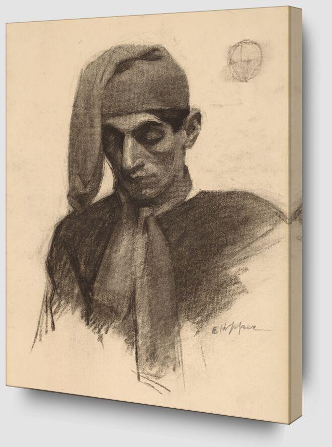Jimmy Corsini - Edward Hopper from AUX BEAUX-ARTS Zoom Alu Dibond Image