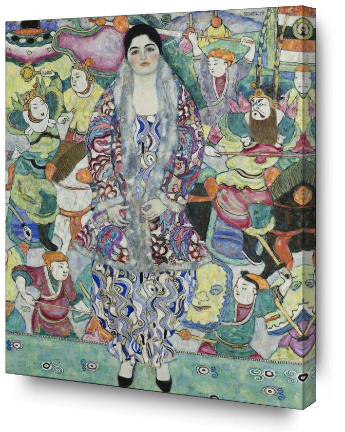 Portrait de Friedericke Maria Beer - Gustav Klimt de AUX BEAUX-ARTS, Prodi Art, KLIMT, portrait, peinture, femme, asie