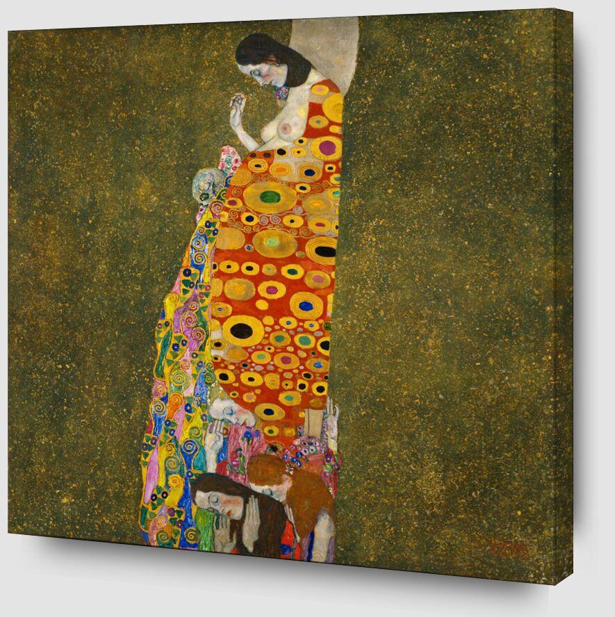 Espoir II - Gustav Klimt de AUX BEAUX-ARTS Zoom Alu Dibond Image
