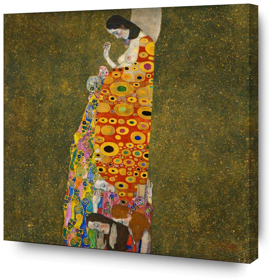 Espoir II - Gustav Klimt de AUX BEAUX-ARTS, Prodi Art, KLIMT, femme, naissance, mort