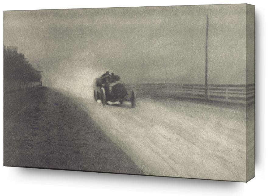 Travaux de Photographie Numéro 7 - 1904 - Edward Steichen de AUX BEAUX-ARTS, Prodi Art, voiture, noir et blanc, veille photo, Steichen