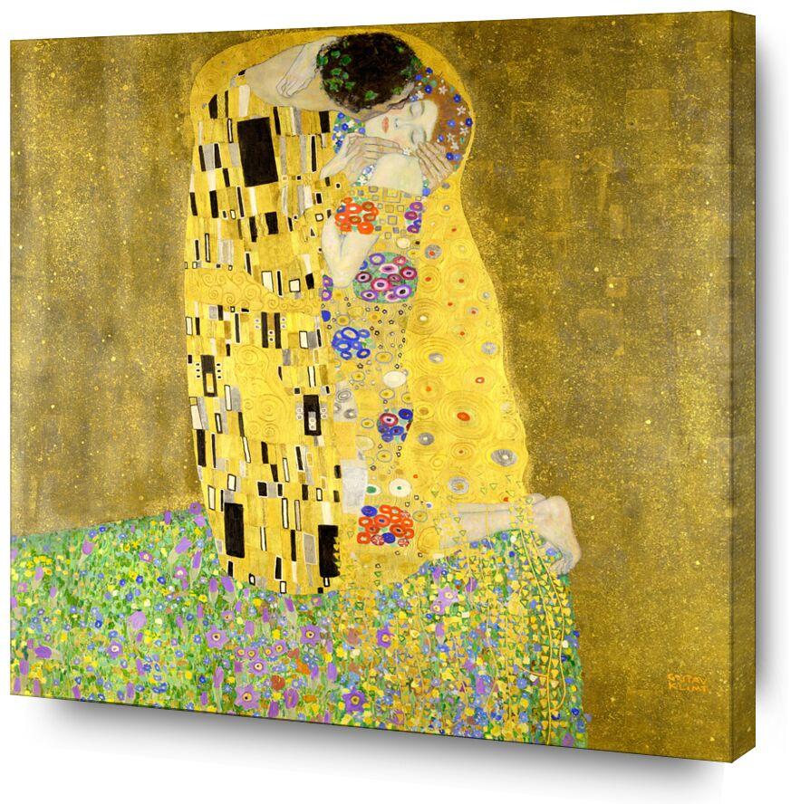 Le baiser - Gustav Klimt de AUX BEAUX-ARTS, Prodi Art, KLIMT, art nouveau, baiser, homme, femme, couple, amour, robe, peinture