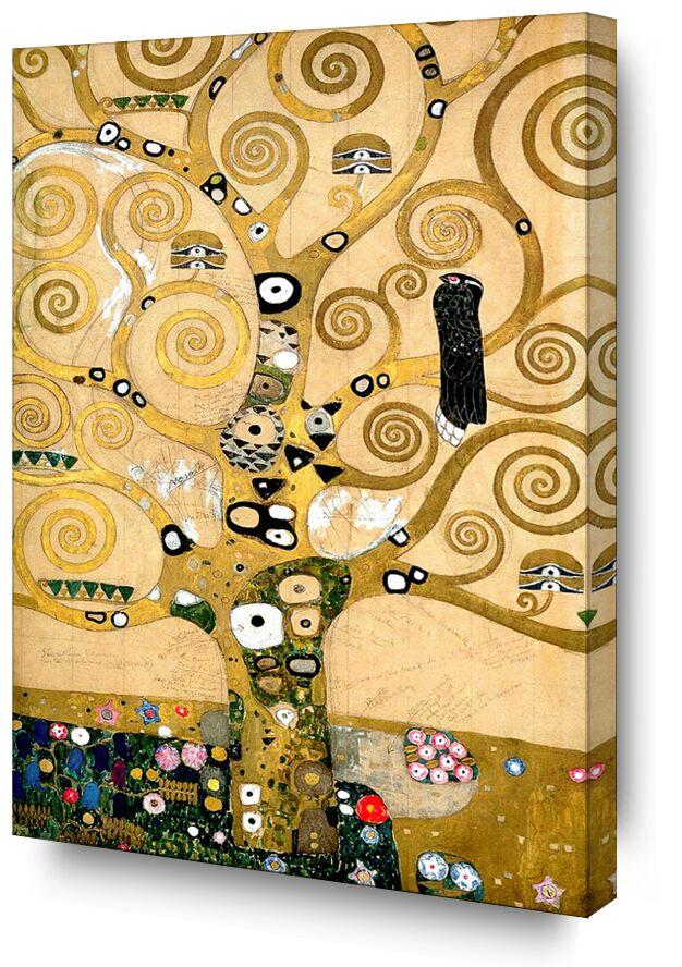 L'arbre de vie - Gustav Klimt de AUX BEAUX-ARTS, Prodi Art, arbre, peinture, art nouveau, arbre de vie