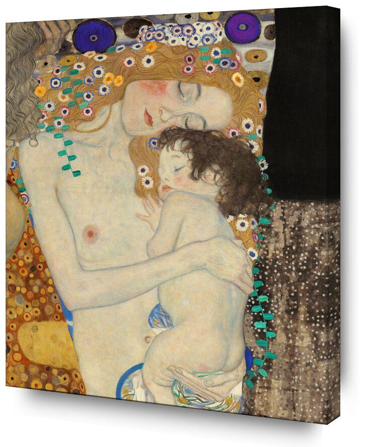 Détails de Les trois âges de la femme - Gustav Klimt de AUX BEAUX-ARTS, Prodi Art, KLIMT, art nouveau, peinture, grandir, âge, enfant, femme