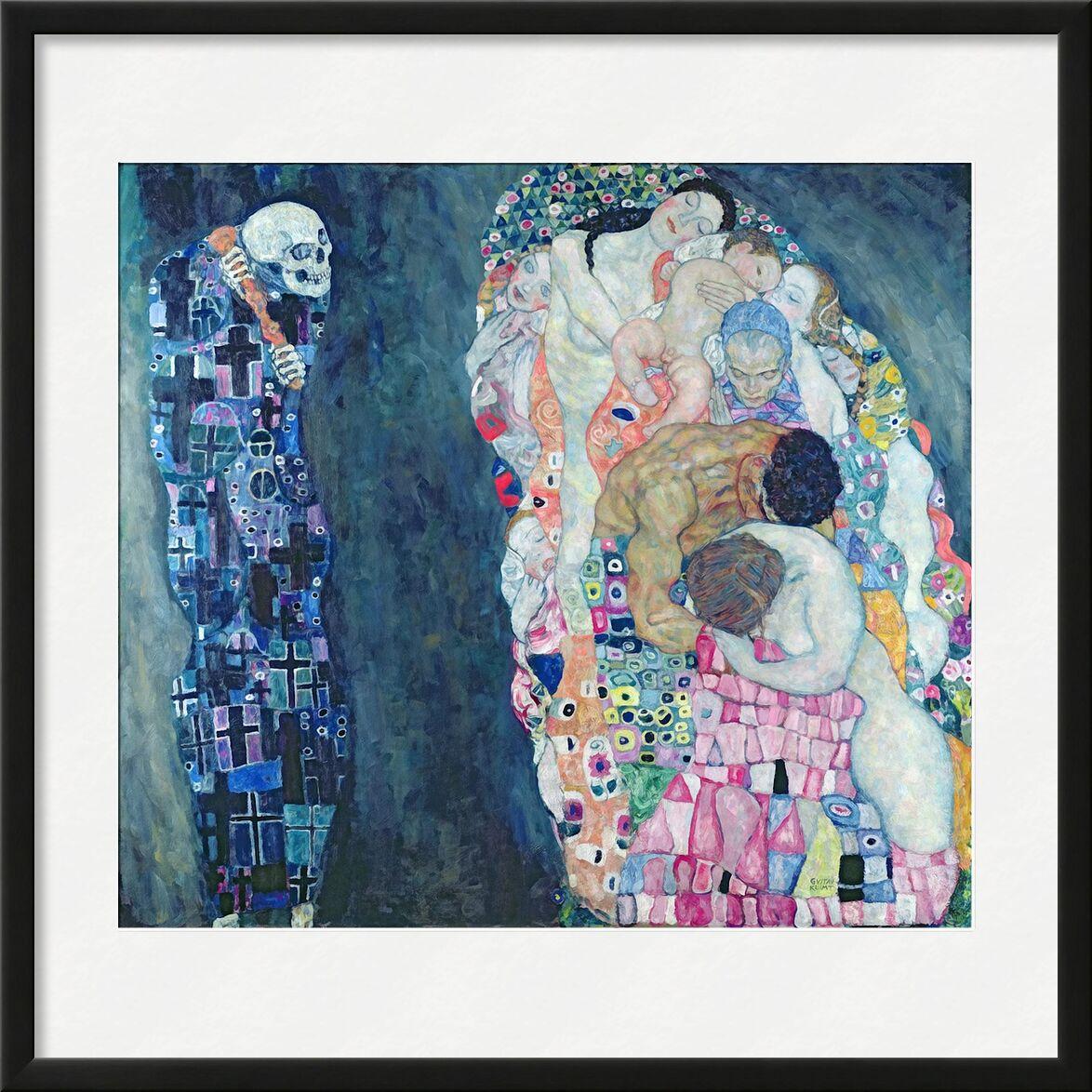 Death and Life, circa 1911 - Gustav Klimt von AUX BEAUX-ARTS, Prodi Art, Kreis des Lebens, abstrakt, Malerei, Tod, Leben, KLIMT