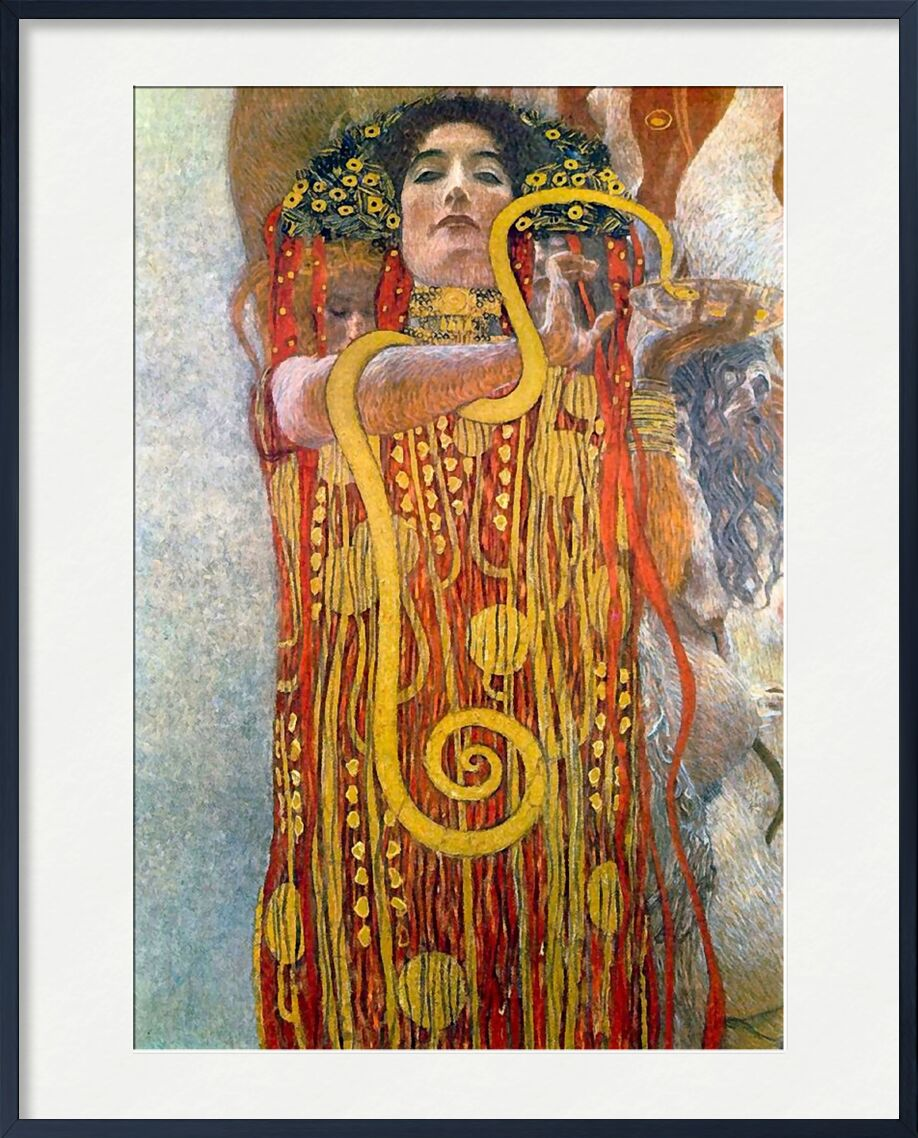 Hygeia - Gustav Klimt desde AUX BEAUX-ARTS, Prodi Art, KLIMT, mujer, savon, higiene, baño, cuarto de baño