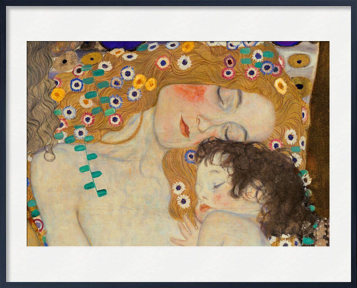 Mother and Child (detail from The Three Ages of Woman) - Gustav Klimt von AUX BEAUX-ARTS, Prodi Art, KLIMT, Mutter, Kind, Malerei, Blumen