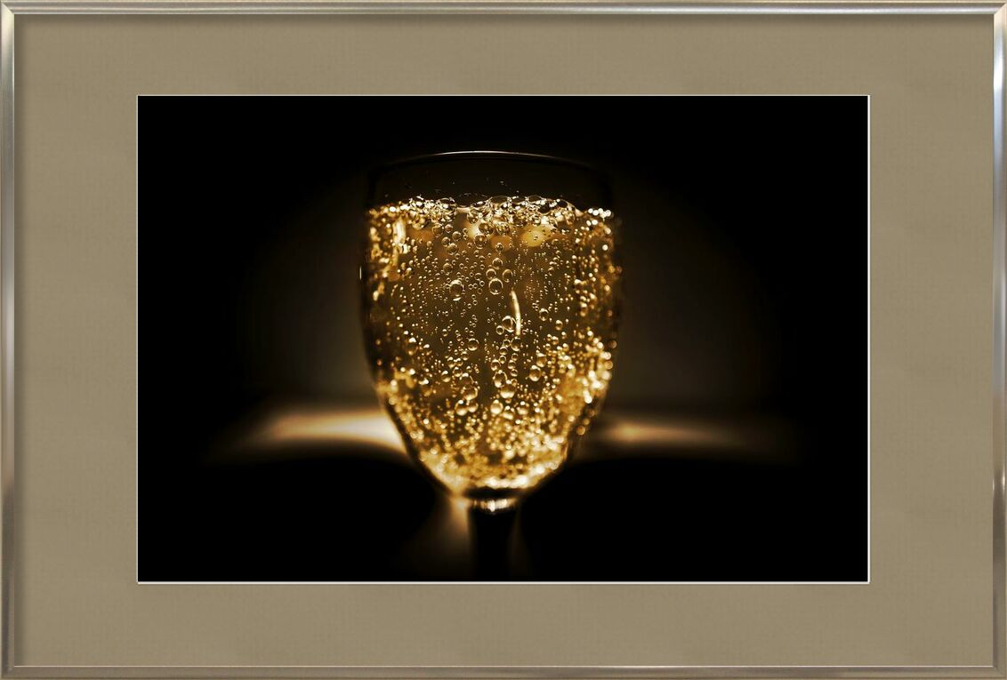 Bubbles from Pierre Gaultier, Prodi Art, blur, bottle, celebration, close-up, cold, dark, beverage, focus, glass, luxury, alcoholic, bar, champagne, class, crystal, drinking glass, gold, liquid, alcohol, sparkling, sparkling wine