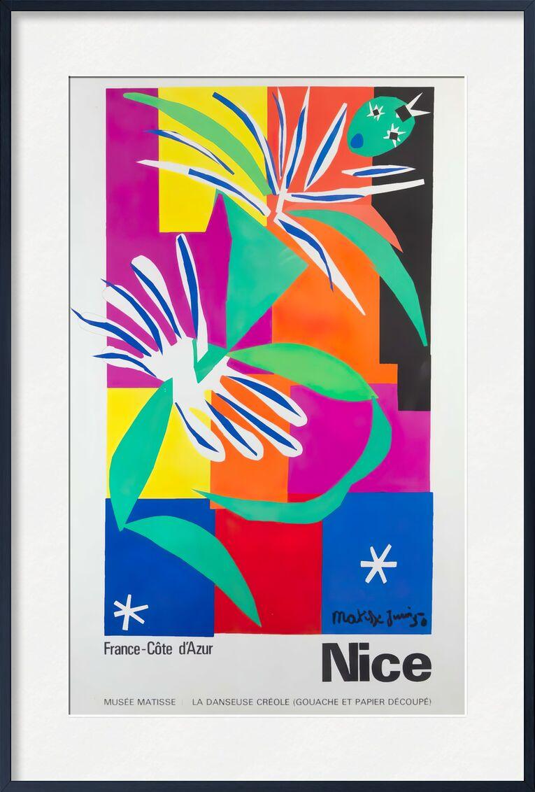 Nice, France - Côte d'Azur - Henri Matisse de AUX BEAUX-ARTS, Prodi Art, agréable, Matisse, affiche, côte d'azur, France, palmier