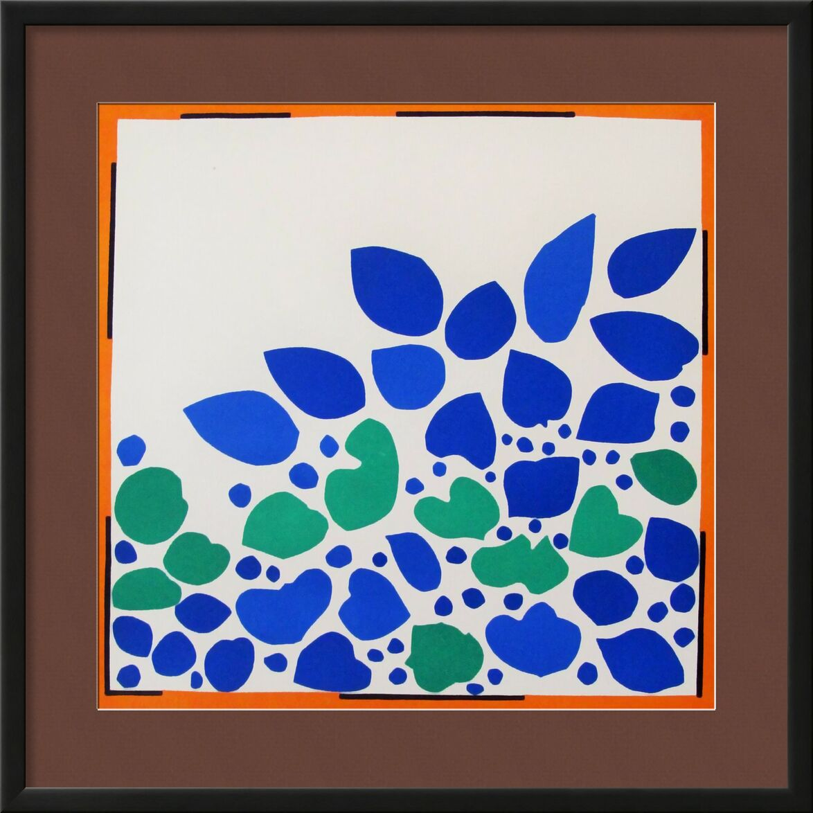Verve, Ivy - Henri Matisse from AUX BEAUX-ARTS, Prodi Art, Matisse, plant, Ivy, abstract, cooking