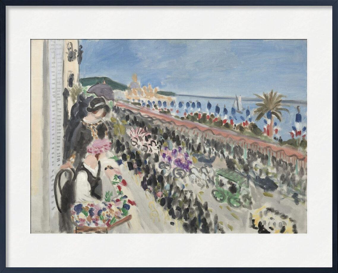 Festival of Flowers, 1923 - Henri Matisse desde AUX BEAUX-ARTS, Prodi Art, barco, mar, verano, playa, celebracion, flores, Matisse