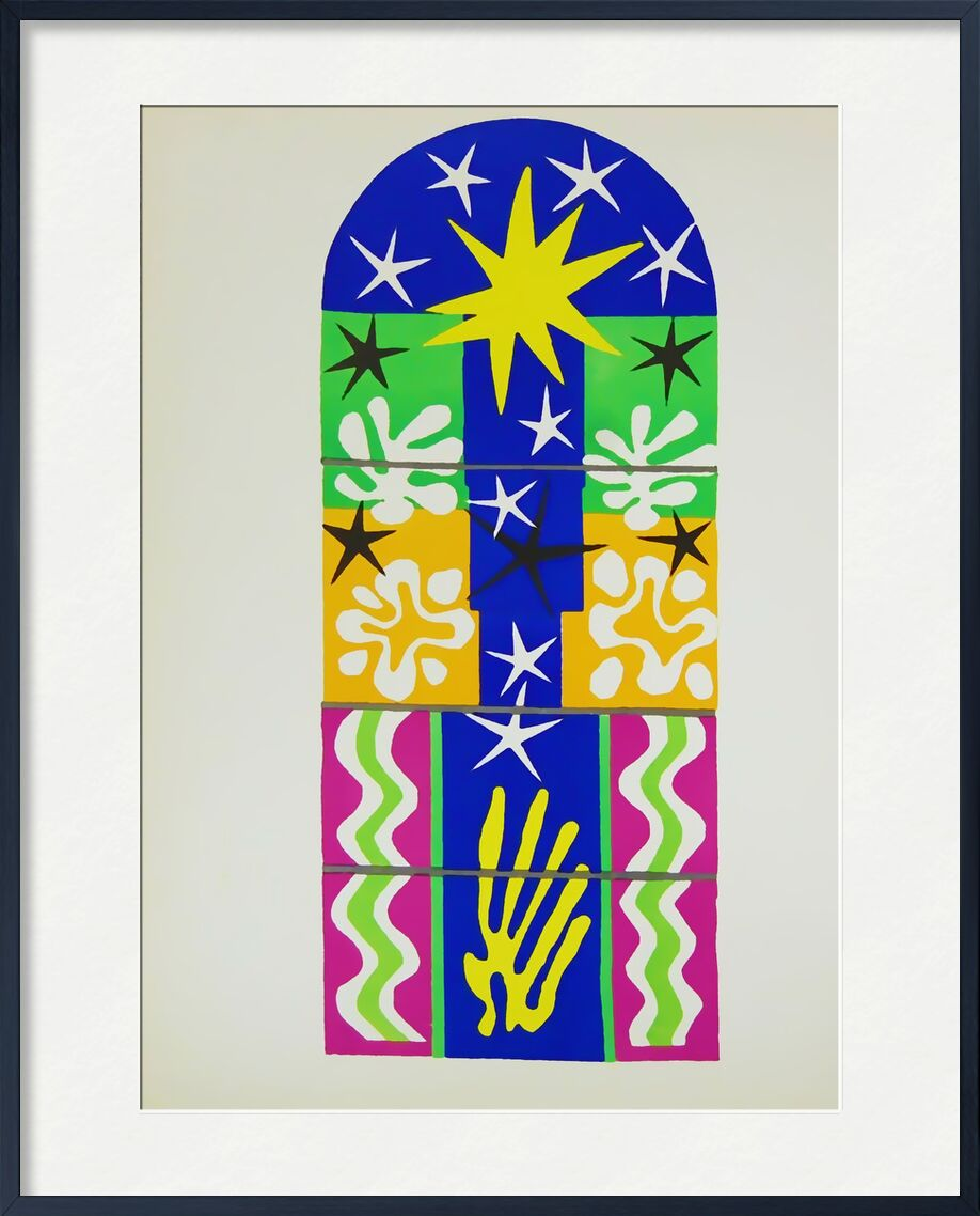 Verve, Christmas Night - Henri Matisse from AUX BEAUX-ARTS, Prodi Art, Matisse, christmas, drawing, collage