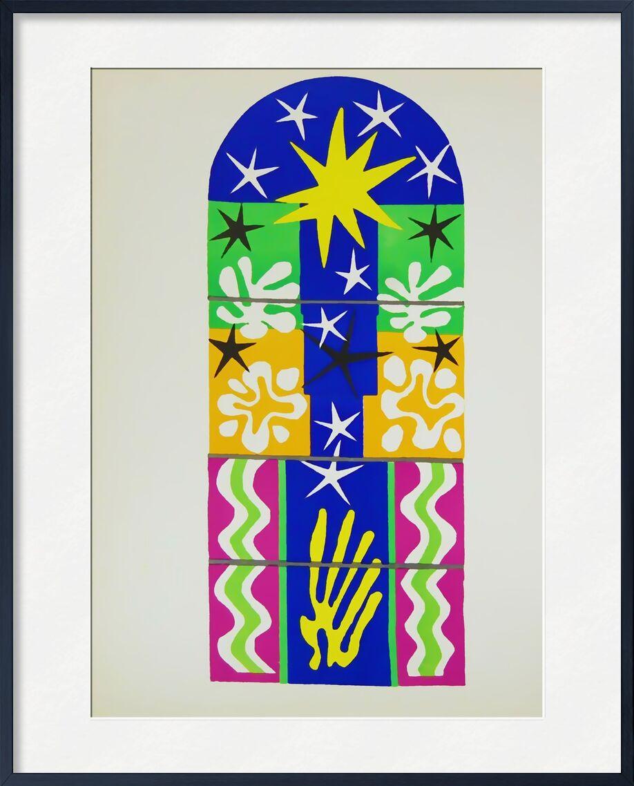 Verve, Nuit de Noel - Henri Matisse de AUX BEAUX-ARTS, Prodi Art, Matisse, Noël, dessin, collage