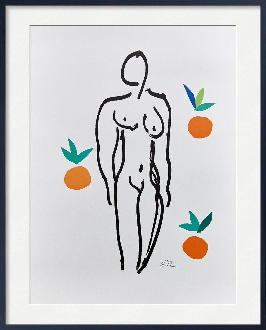 Verve, Nu aux Oranges - Henri Matisse de AUX BEAUX-ARTS, Prodi Art, Matisse, nu, femme, Orange, fruit, cuisine