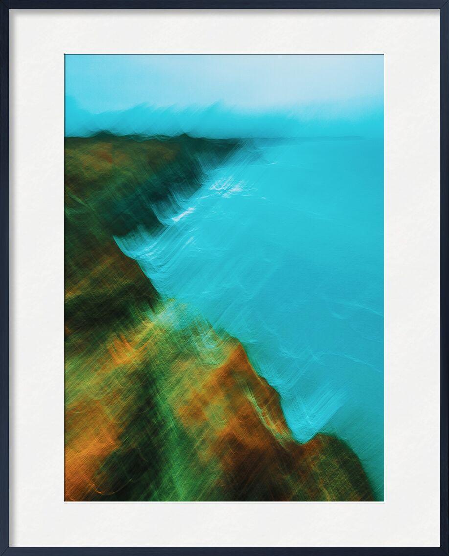 Bord de mer à Cancale en icm de Céline Pivoine Eyes, Prodi Art, vagues, bretagne, nature, paysage, mer, bord de mer, Photographie abstraite, art abstrait, flou artistique, Mouvement intentionnel de la caméra, ICM, Cancale