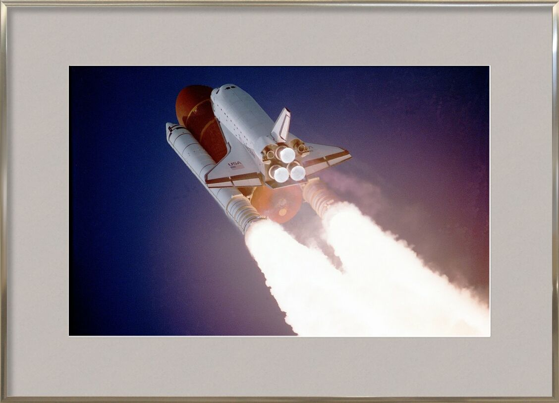 Rocket launch from Pierre Gaultier, Prodi Art, space shuttle, lift-off, liftoff, nasa, aerospace, outer space, gravity force, science, start, rocket, fire, repulsion