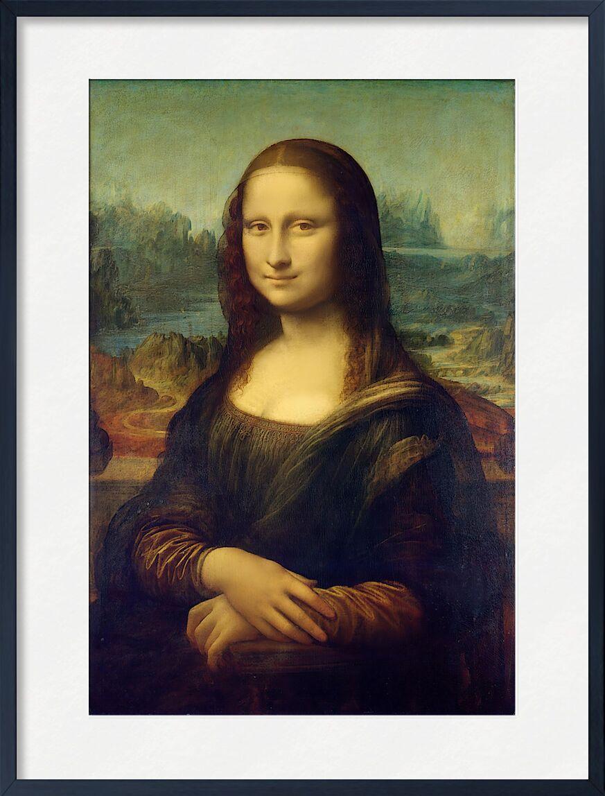 Mona Lisa - Leonardo da Vinci from AUX BEAUX-ARTS, Prodi Art, De Vinci, portrait, woman, mystery, secret, painting, Leonard de Vinci