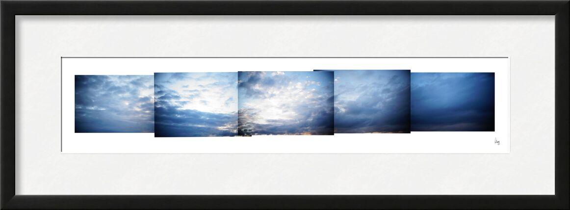 nuages 1 de Benoit Lelong, Prodi Art, nature, France, Alpes, original, décoration, calme, inspirant, ciel bleu, Voyage, montagnes, artiste, vacances, horizon, sommet, abstrait, ciel, nuages, élégant