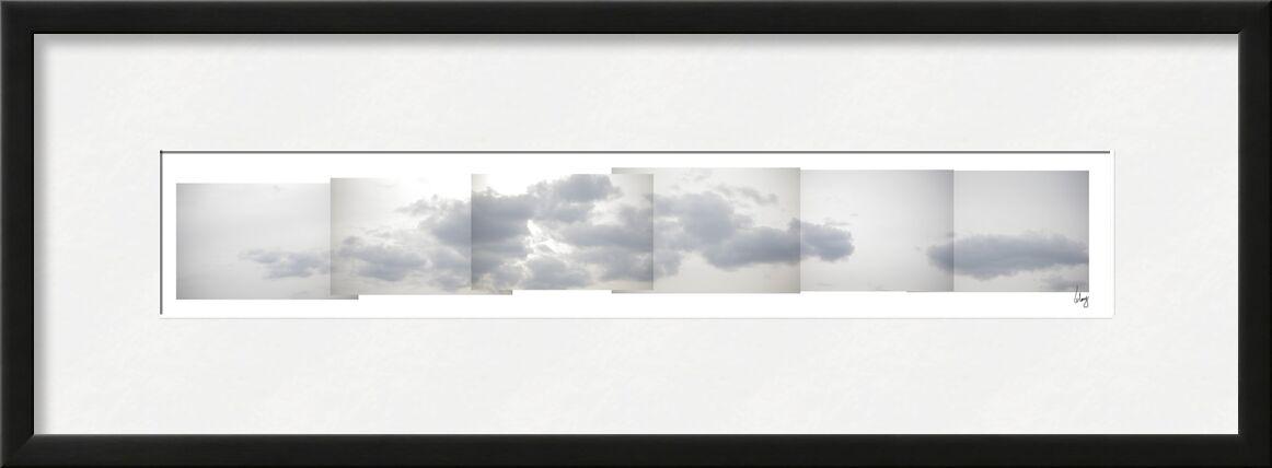 Nuages 2 de Benoit Lelong, Prodi Art, calme, décoration, original, nature, France, Alpes, pur, inspirant, ciel bleu, Voyage, montagnes, Lac, artiste, vacances, horizon, neige, ski, oisans, sommet, unique, gris, soleil, ciel, nuages